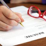 Kinh nghiệm viết mẫu đơn xin việc viết tay