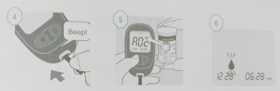 các bước đo đường huyết ogcare