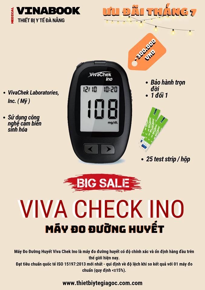 Máy đo đường huyết Viva chek ino