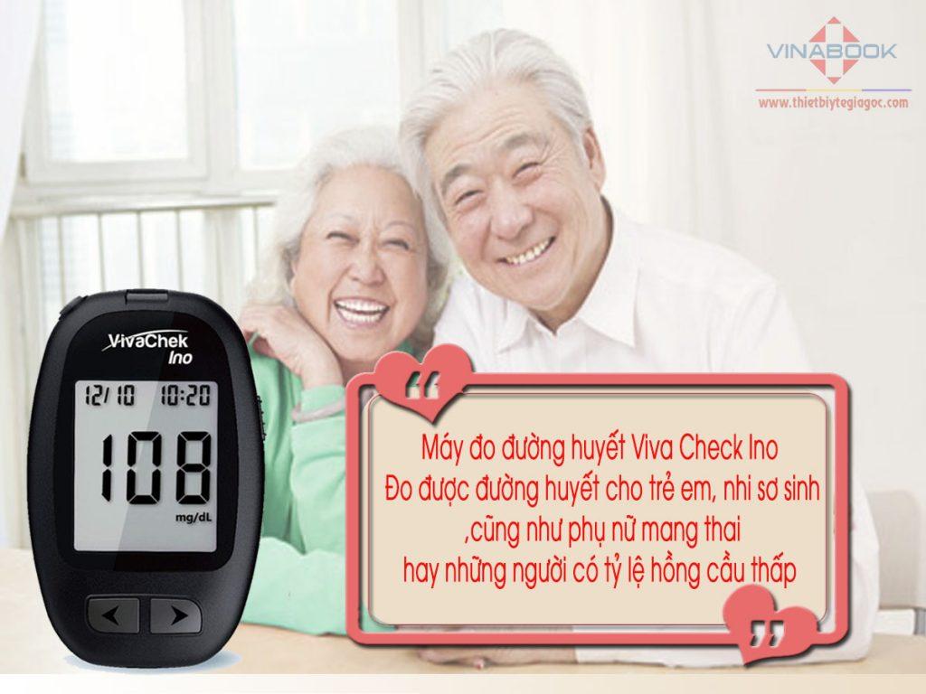 máy đo đường huyết Viva checjk Ino