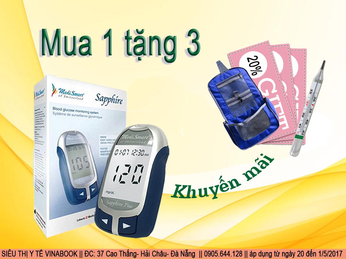 khuyến mãi máy đo đường huyết