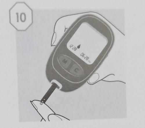 cách sử dụng máy đo đường huyết ogcare