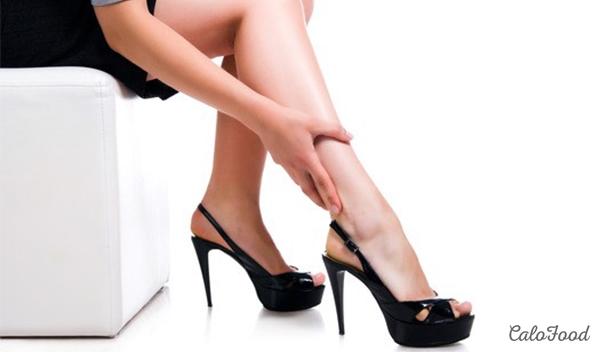 hạn chế sử dụng giày cao gót
