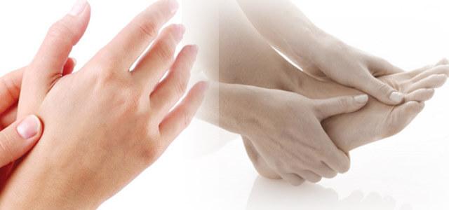 tê mỏi chân tay