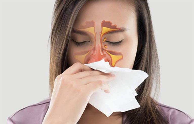 các bệnh chữa bằng xông khí dung